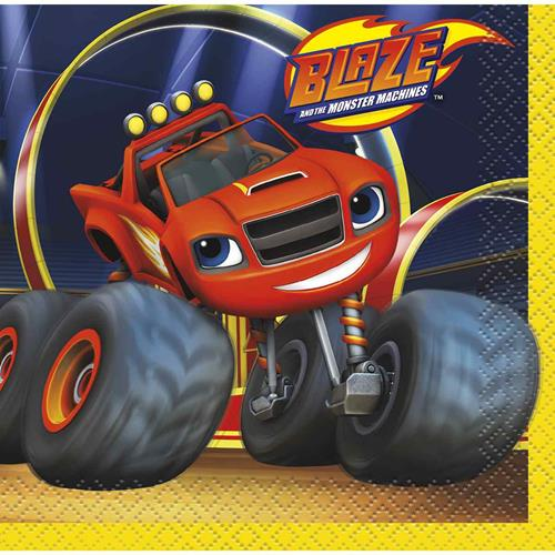 Blaze and the Monster Machines Beverage Napkins [16 per Pack]