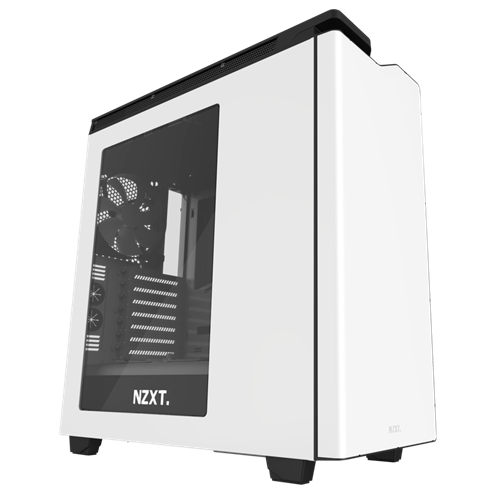 NZXT H440 New Edition White/Black Window USB 3.0 Mid Tower ATX Case