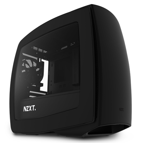 NZXT Manta Mini ITX Black/Black Window USB 3.0 Mini Tower