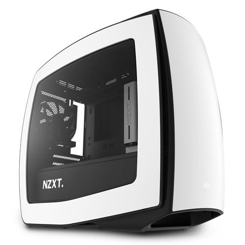 NZXT Manta Mini ITX White/Black Window USB 3.0 Mini Tower