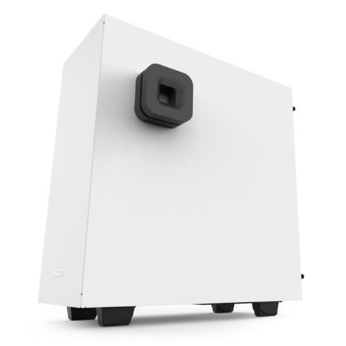 NZXT S340 Elite Matte White USB 3.0 Tempered Glass Windows VR Support Mid-Tower Case