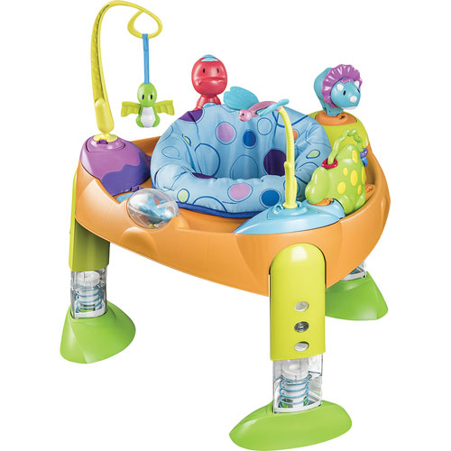 si ge sauteur d 39 activit exersaucer fast fold go d 39 evenflo bounce a saurus si ges sauteurs. Black Bedroom Furniture Sets. Home Design Ideas