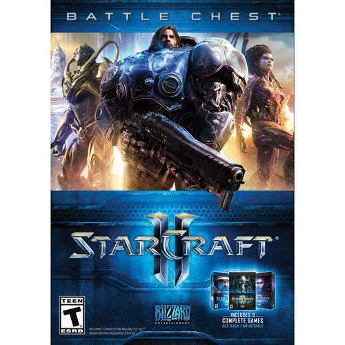 StarCraft II Battle Chest (PC) - French