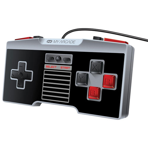 My Arcade Wired NES Gamepad Retro Controller for NES Classic/Wii/Wii U