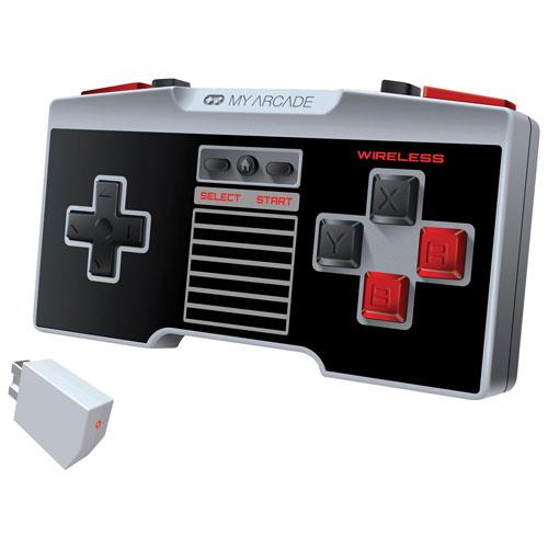 Manette NES Gamepad Pro sans fil de My Arcade pour NES Classic/Wii/Wii U