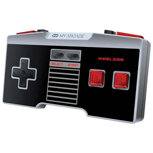 My Arcade Wireless NES Gamepad Classic Controller for NES Classic/Wii/Wii U