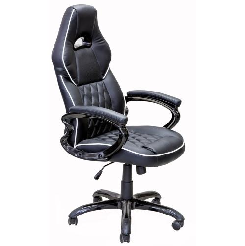 Admirable Viscologic Gamers Gaming Chair Black Creativecarmelina Interior Chair Design Creativecarmelinacom