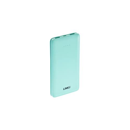 Linke Slim Smartcharger 10000MAH Polymer Lithium Battery Power Bank w/ LED Flshlight 2.1A 2XUSB Port