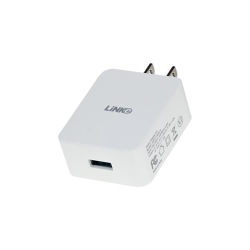 Linke [QUALCOMM CERTIFIED] Quick Charge 3.0 AC Home Wall Travel USB Charger