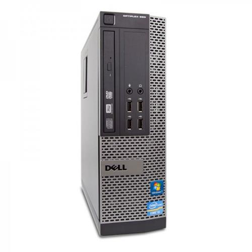 DELL OPTIPLEX 990, SFF, I5 2400, 3.1 GHZ, DDR3, 4.0 GB, 250GB, DVD, GB NIC, WINDOWS 10 HOME 3 YR Warranty - Refurbished