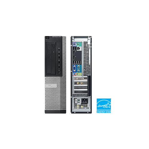DELL OPTIPLEX 9010 SFF I5 3570 3.4 GHZ DDR3 4.0 GB 250GB DVD/RW WINDOWS 10 HOME 5YR WTY USB WIFI - Refurbished