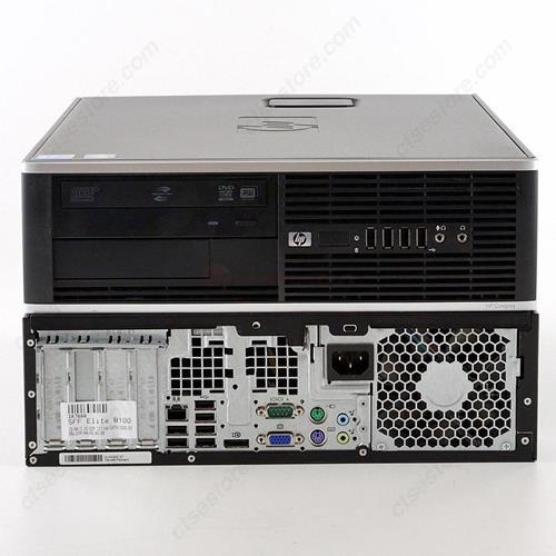 HP 8100 ELITE, SFF, I5 650, 3.2 GHZ, DDR3, 12.0 GB, 250GB, DVD, GB NIC, WINDOWS 10 Professional 3 YR Warranty - Refurbished