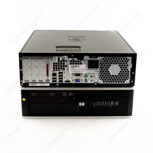 HP 6000 PRO, SFF, E8400 CORE 2 DUO, 3.0 GHZ, DDR3, 8.0 GB, 160GB, DVD, GB NIC, WINDOWS 10 PRO 3 YR Warranty - Refurbished