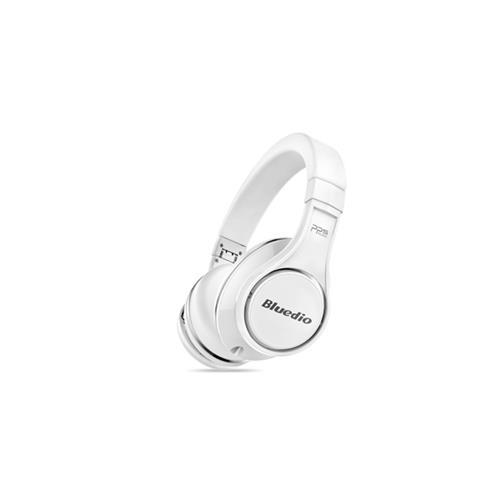 Bluedio U (Ufo) Revolution Patented 8 Tracks /3D Sound Effect Bluetooth Headphones White