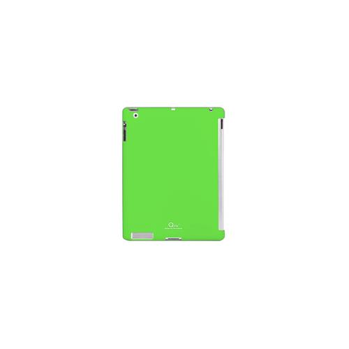 Qric Purism Tpu Fitting Back Cover for Apple iPad 2 - Green