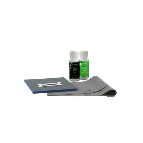 Radtech Ice Creme Acrylic Polycarbonate and Metal Refinishing Scratch Repair Kit iPod iPhone MP3