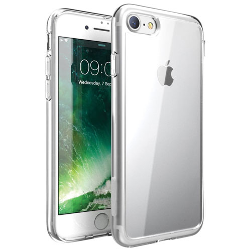 Exian iPhone 7 Fitted Soft Shell Case - Clear