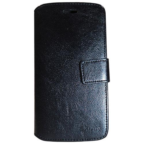 Étui portefeuille d'Exian pour iPhone 7 - Noir