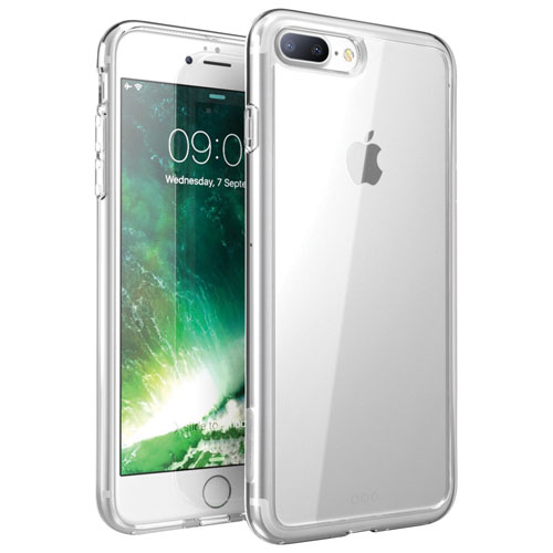 Exian iPhone 7 Plus Fitted Soft Shell Case - Clear