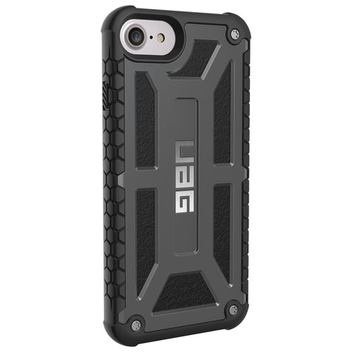 UAG Monarch iPhone 6S/7/8 Fitted Hard Shell Case - Graphite Black