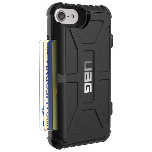 UAG Card Case iPhone 7/8 Fitted Hard Shell Case - Trooper Black