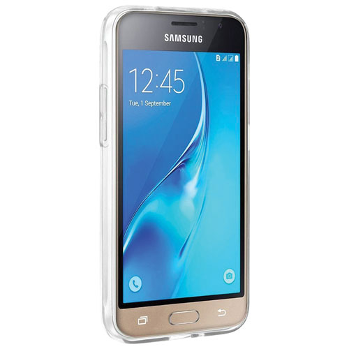 Exian Galaxy J1 Fitted Soft Shell Case - Clear