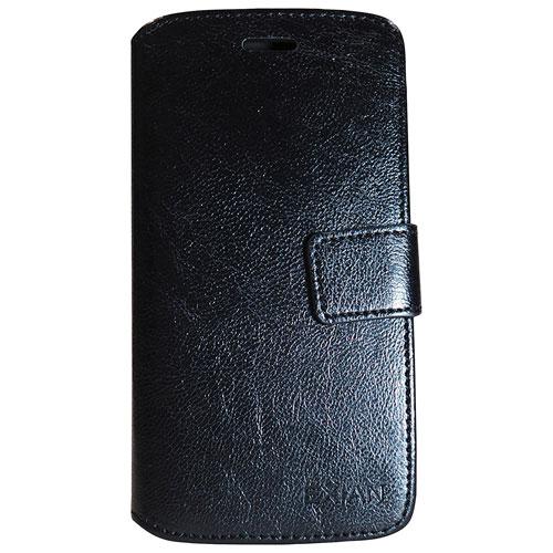 Exian Huawei P8 Lite Wallet Case - Black