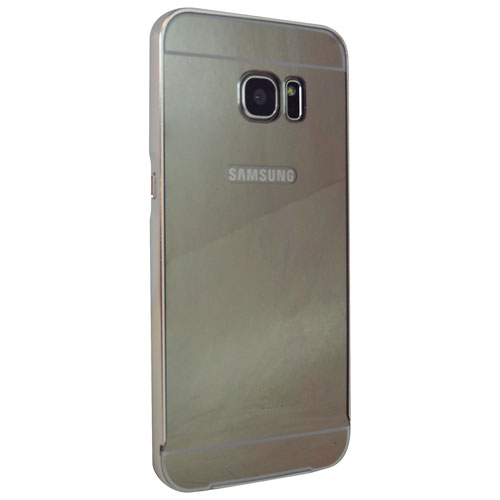 Exian Galaxy S7 Edge Fitted Hard Shell Case - Silver