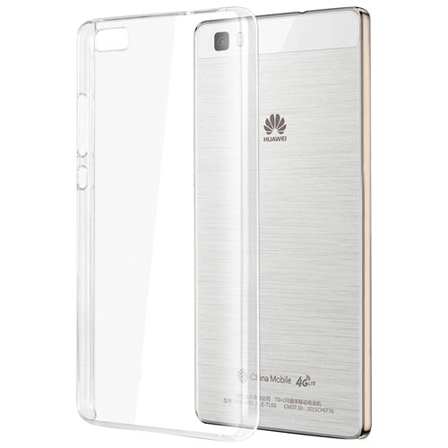 Exian Huawei P8 Lite Fitted Soft Shell Case - Clear