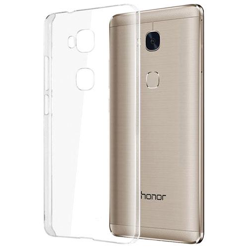 Étui souple ajusté d'Exian pour Honor 5X de Huawei - Transparent