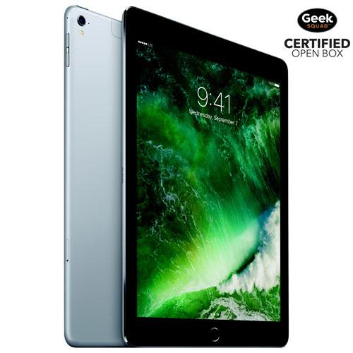 iPad Pro de 9,7 po et 32 Go avec Wi-Fi/LTE d'Apple - Gris cosmique - Boîte ouverte