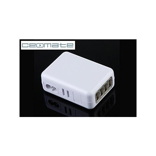 Ceomate AC to USB 4PORT CHARGER-AD01-5 MULTI-COUNTRY