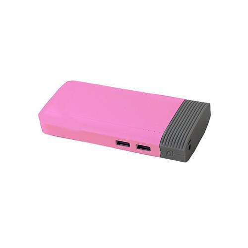 Ceomate 19800mAh 2.1A Output 2-Port Portable External Battery Power Bank CME-PB9003(Pink)