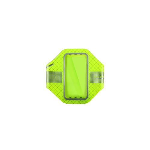 Baseus ULTRA-THIN Sports Armband Fit Upto 5.5IN Devices - Fluorescent Green