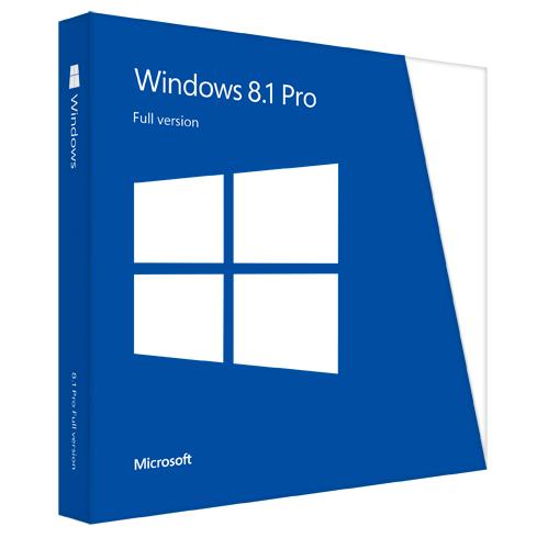 Microsoft Windows 8.1 Professional 64 bit OEM
