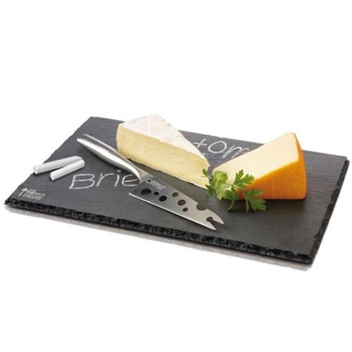 Boska - Cheese Set Cheesy 'L' Slate - Slate Board & Knife