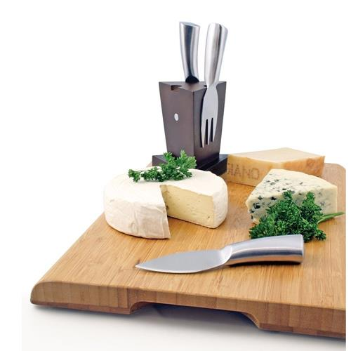 Swissmar - 3 Pc Cheese Knife Block Set