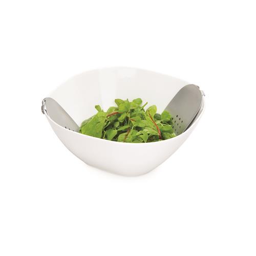 Universal Expert - Porcelain Salad Bowl (with Serving Hands)