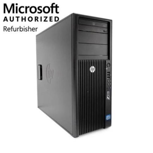 HP Z210 Workstation,Intel Xeon,8GB RAM,500GB HDD, DVD RW, Windows 10 Pro, 1 Year Warranty - Refurbished