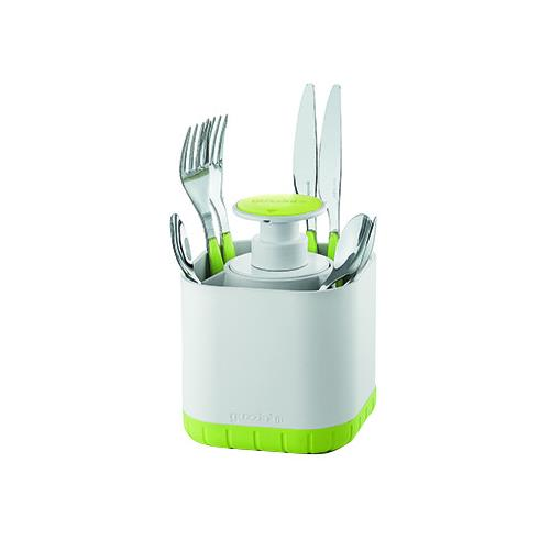 Guzzini - Cutlery drainer with removable soap dispenser