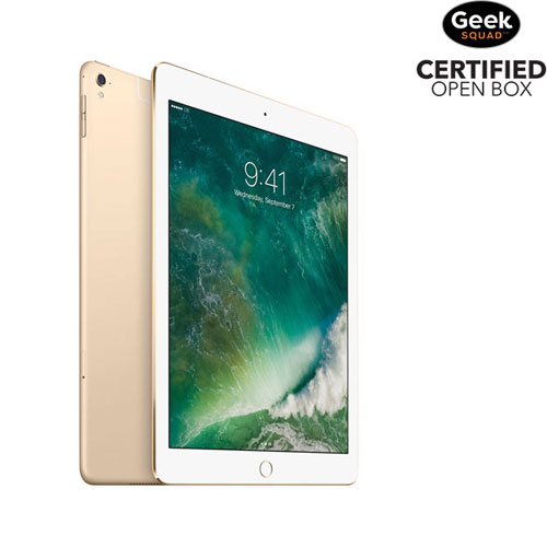 "Apple iPad Pro 9.7"" 256GB with Wi-Fi/LTE - Gold - Open Box"