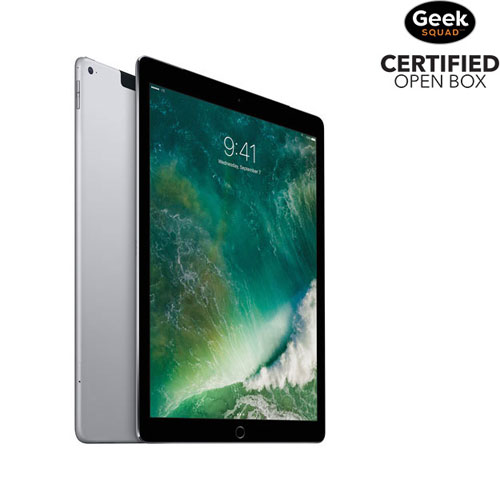 "Apple iPad Pro 12.9"" 128GB With Wi-Fi/3G/4G/4G LTE - Space Grey - Open Box"