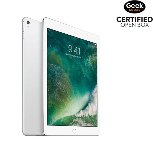 "Apple iPad Pro 9.7"" 256GB with Wi-Fi - Silver - Open Box"