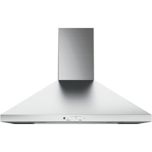 "GE 30"" Wall Chimney Range Hood (JVW5301SJSSC) - Stainless Steel"