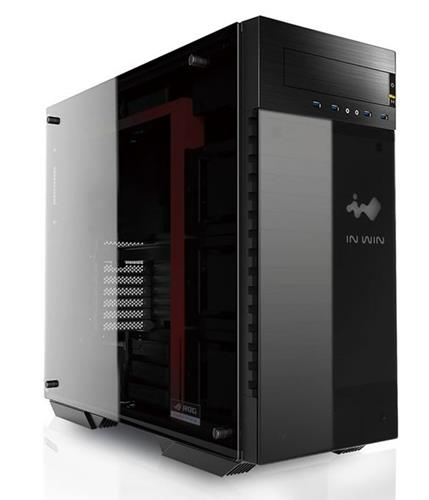 In-Win 509 ROG Black/Red RGB Tempered Glass ATX Case