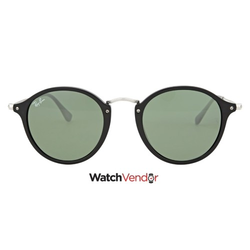 559c9b16d33 Ray Ban Round Fleck Green Classic G-15 Sunglasses RB2447 901 49   Sunglasses  - Best Buy Canada