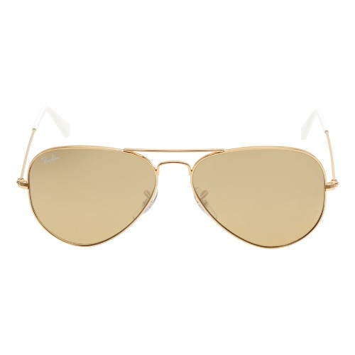 fbd8d6e5a88d1 Ray Ban Aviator Gradient Brown Silver Mirror Sunglasses RB3025-0013K-58    Sunglasses - Best Buy Canada