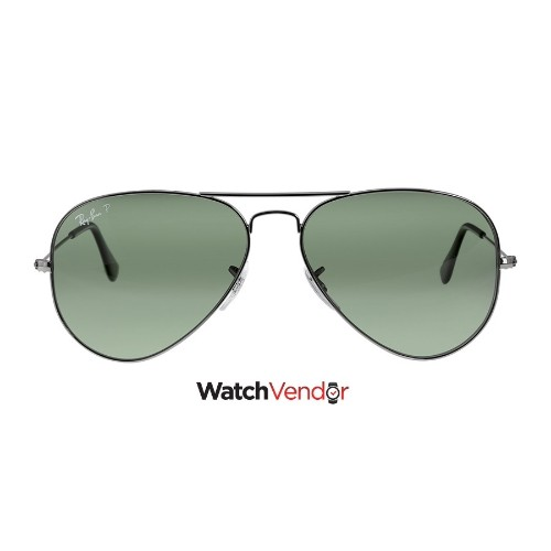 ff2370b8f4 Ray-Ban Aviator Classic Sunglasses - Polarized Green G -15   Sunglasses -  Best Buy Canada
