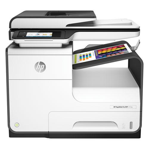 Imprimante à jet d'encre tout-en-un sans fil PageWide Pro 477DW de HP