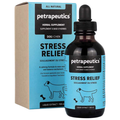 Petrapeutics Stress Relief Herbal Supplement for Dogs - 100 ml